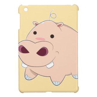 Happy Cartoon Baby Hippo Case For The iPad Mini