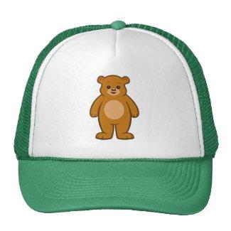Happy Cartoon Bear Hat