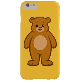 Happy Cartoon Bear iPhone 6 Plus Case