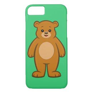 Happy Cartoon Bear iPhone 7 Case