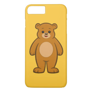 Happy Cartoon Bear iPhone 7 Plus Case