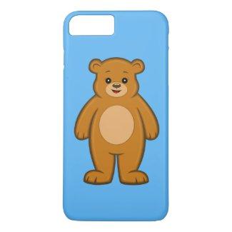 Happy Cartoon Bear iPhone 7 Plus Case