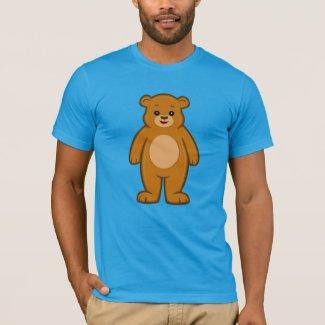 Happy Cartoon Bear Men's T-Shirt