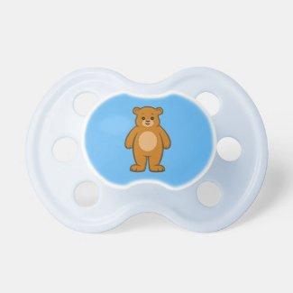 Happy Cartoon Bear Pacifier