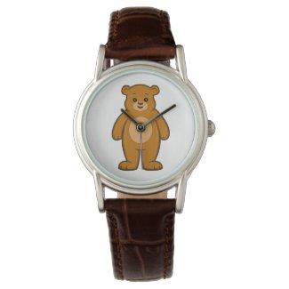 Happy Cartoon Bear Watch
