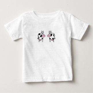 Happy Cartoon Cows Shirts