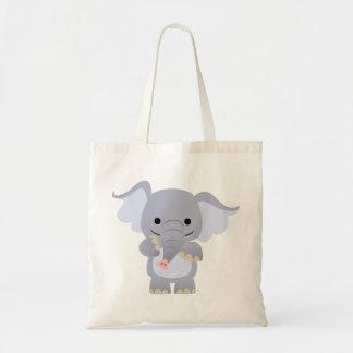 Happy Cartoon Elephant Bag