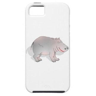 Happy cartoon hippo iPhone 5 case