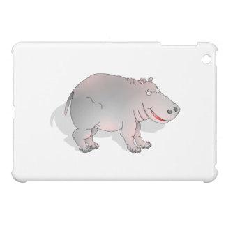 Happy cartoon hippo cover for the iPad mini