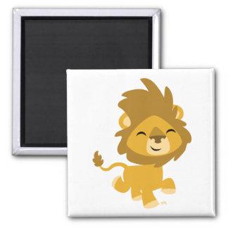 Happy Cartoon Lion magnet