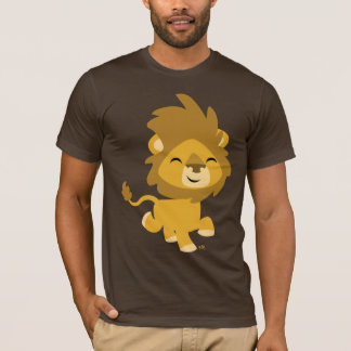 Happy Cartoon Lion T-shirt