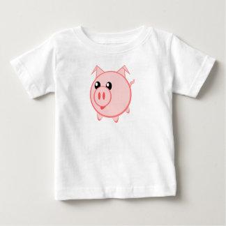 Happy Cartoon Pig T Shirt