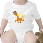 Happy Cartoon Pony Baby apparel T-shirts