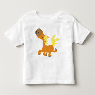 Happy Cartoon Pony  children T-shirt