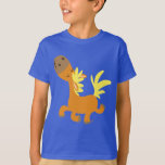 Happy Cartoon Pony Kids T-shirt