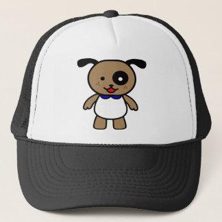 Happy Cartoon Puppy Trucker Hat