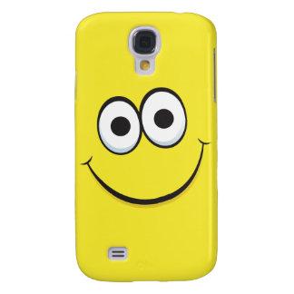 Happy cartoon smiley face iPhone case Galaxy S4 Case