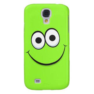Happy cartoon smiley face iPhone case Samsung Galaxy S4 Case