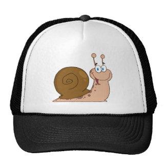 Happy Cartoon Snail Trucker Hat