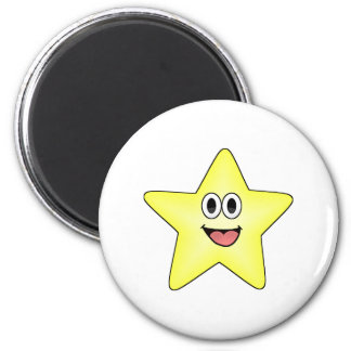 Happy Cartoon Star Magnet