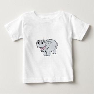Happy CartoonHippopotamus Baby T-Shirt