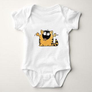 Happy Cat Baby Bodysuit
