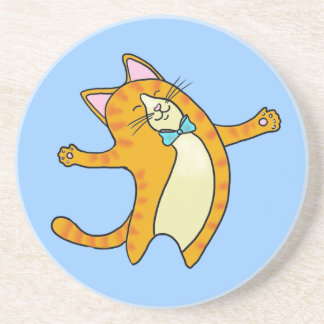 Happy Cat Beverage Coaster