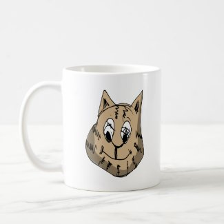 Happy Cat Coffee Mug
