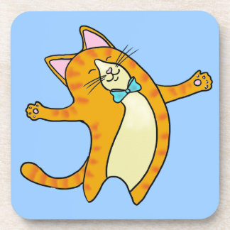 Happy Cat Coaster