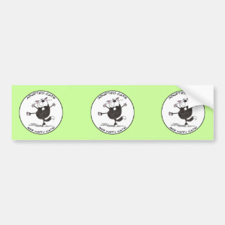 Happy Cat Dance Bumper Sticker