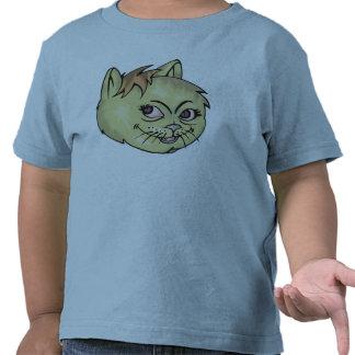 Happy Cat Face T Shirts