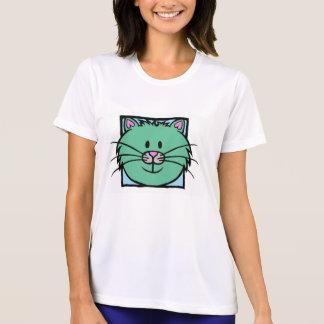 HAPPY CAT (green) T-shirts