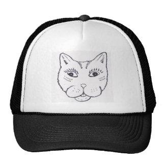 Happy Cat Mesh Hats