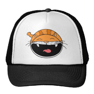 Happy Cat Mesh Hat