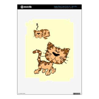Happy Cat iPad 3 (wi-fi +4g lte) Skin For iPad 3