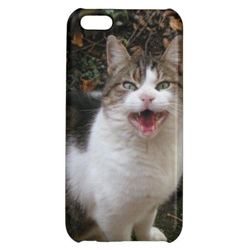 Happy Cat Cover For iPhone 5C