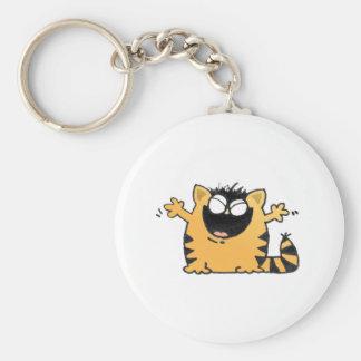Happy Cat Keychain