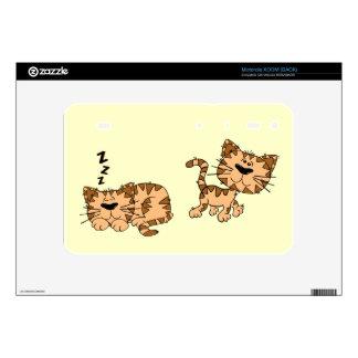 Happy Cat Motorola Xoom Skin