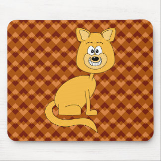 Happy Cat. Mouse Pad