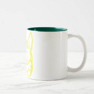 Happy Cat Mug (yellow tabby)