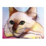 Happy Cat Post Card