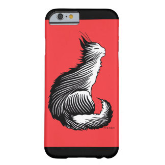 """""""Happy Cat"""" Red iPhone 6 Case"""