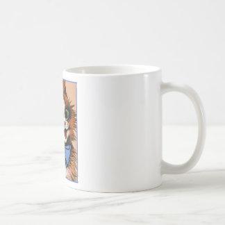Happy Cat (Vintage Image) Coffee Mug