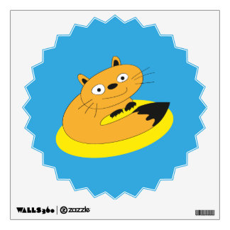 Happy Cat Wall Decal