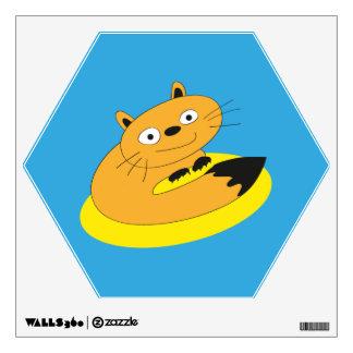 Happy Cat Wall Sticker