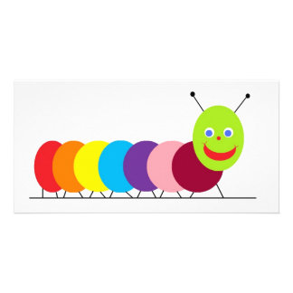 Happy Caterpillar Card