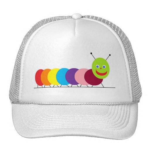 Happy Caterpillar Trucker Hat