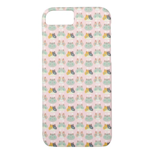 Happy Cats iPhone 8/7 Case