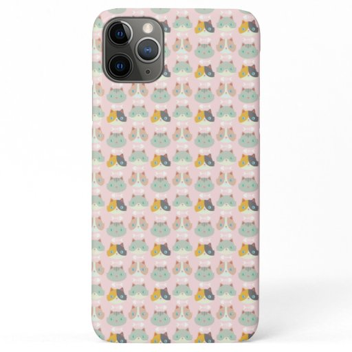 Happy Cats iPhone 11 Pro Max Case