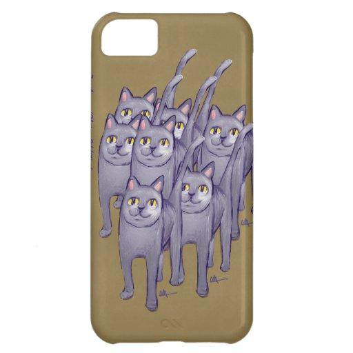Happy Cats iPhone 5 Case